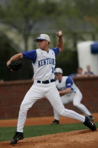 Chris Rusin; Photo by UK Athletics