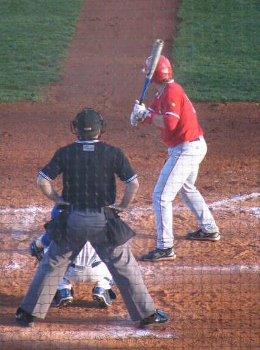 Matt Payton bats against UK: BluGrass Baseball photo
